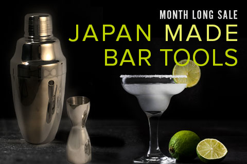 15% Off Exquisitely Made Japanese Bar Tools