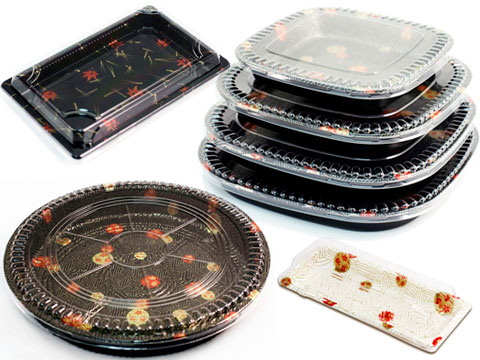 Sushi Take Out Containers