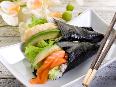 Temaki Hand Rolled Sushi
