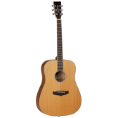 Tanglewood TW28CSN-LH  Evolution IV Solid Cedar Dreadnought Left Handed