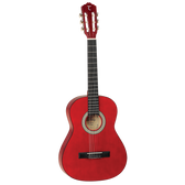 Tanglewood TWDBT44-TWR Discovery 4/4 Classical Guitar - Transparent Red
