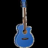 Tanglewood TWDBTSFCEDBL Discovery Superfolk C/E Cobalt Blue