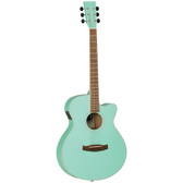 Tanglewood TWDBTSFCESGR Discovery Superfolk C/E Surf Green