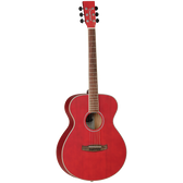 Tanglewood TWDBTFRDLH Discovery Folk Left Hand Red Acoustic Guitar