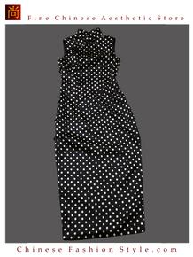 Premium Silk Top Tailor Artistry Cheongsam Qipao Gown Dress - Free Custom Made #110