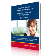 Help Desk Analyst Complete Certification Kit: Essential Study Guide and eLearning Program - Second Edition