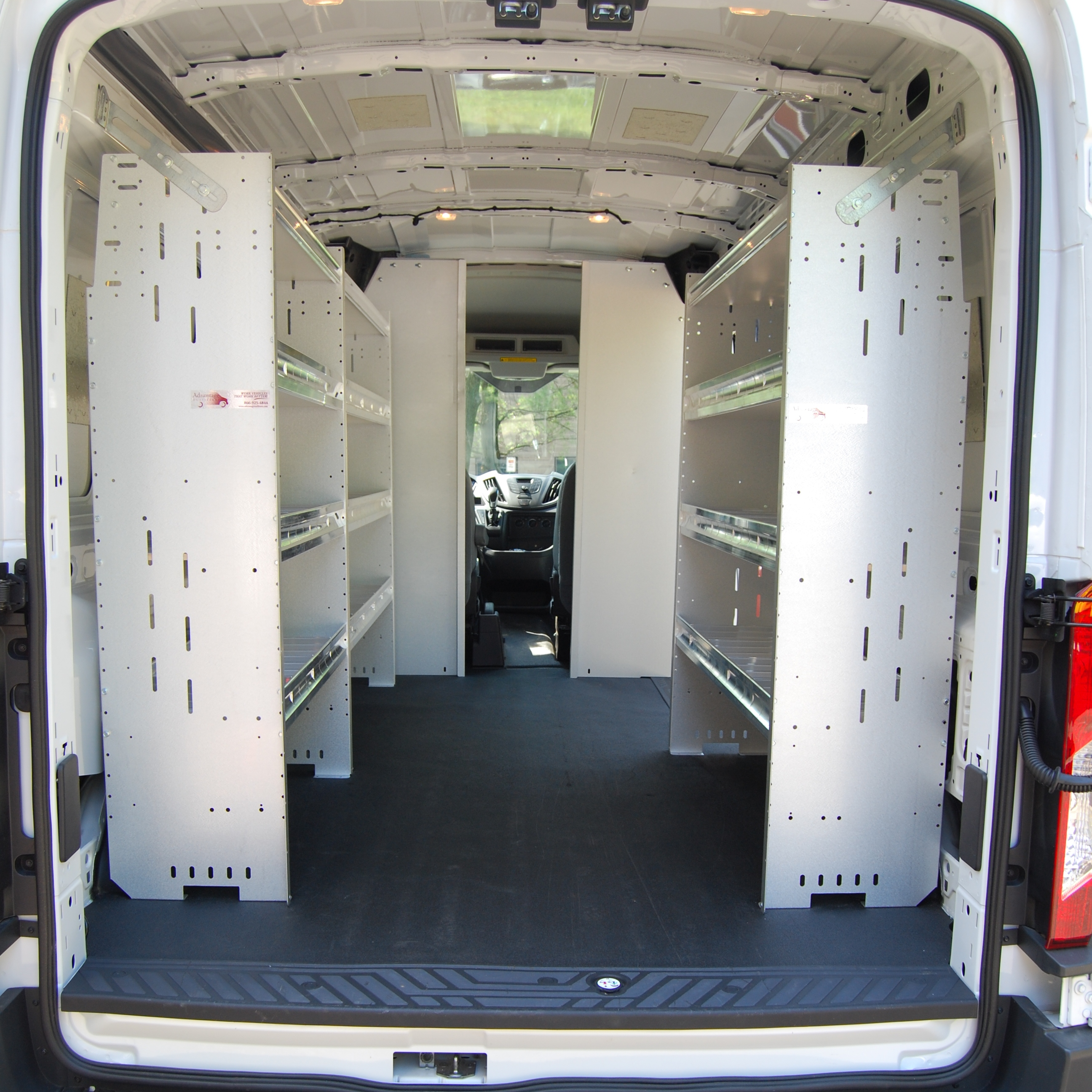 Commercial Van Shelving Van Equipment Advantage Outfitters