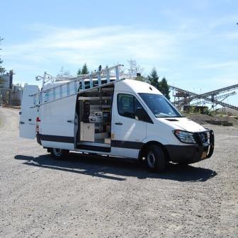 Commercial Van Shelving and Ladder Racks for Sprinter