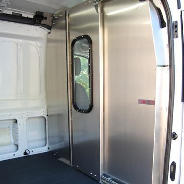 Transit Aluminum Sliding Door Partition