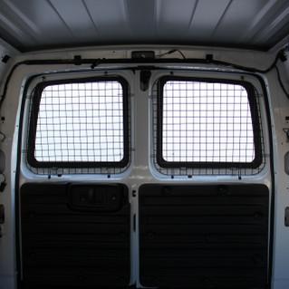 Savana / Express Side Hinged Barn Doors - Rear Doors