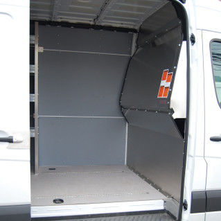 Sprinter Contoured Solid Partition
