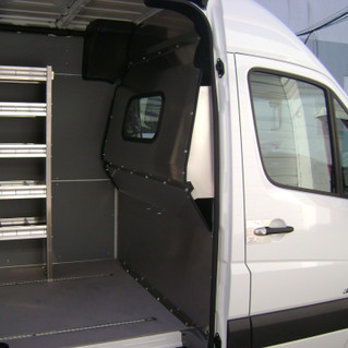 Sprinter Contoured Partition with Window