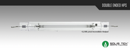 SolisTek Double Ended High Pressure Sodium (HPS) Digital Lamps