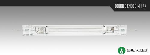 SolisTek Double Ended 4K Metal Halide (Pulse-Start)