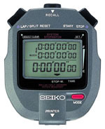 Seiko S143 - 300 Lap Memory Timer with Printer Port