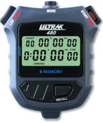 Ultrak 480 - 8 Lap Memory Stopwatch
