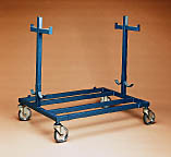 Spalding Free Standing Volleyball Equipment Cart 438-127