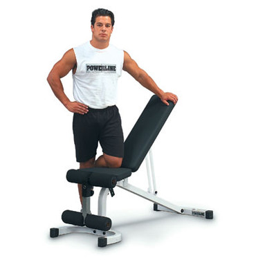 Powerline Fitness Flat/Incline/Decline Bench PFID130X