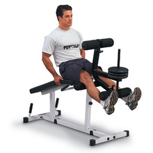 Powerline Fitness Leg Extension / Leg Curl PLCE165X