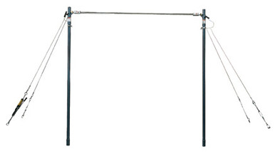 American Athletic Gymnastics Adjustable Single Bar Trainer - Men