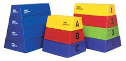 American Athletic Gymnastics Training Development Trapezoids