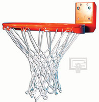 Gared Sports High Strength Rear Mount Fixed Basketball Goal