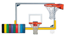 Gared Scholastic Backboard and Goal Basketball Hoop Package