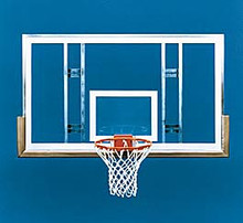Spalding SuperGlass Conversion-sb Backboard Package