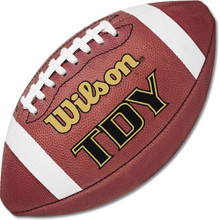Wilson F1300 TDY Leather Youth Football