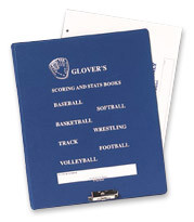 Glovers Football Scorebook Binder
