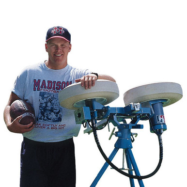 Jugs Football Passing Catching Drill Machine