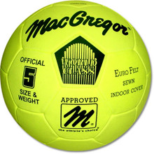 MacGregor Eurofelt Official Size/Weight Indoor Soccer Ball
