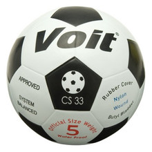 Voit Official Size Weight Rubber Outdoor Soccer Ball-Size 5
