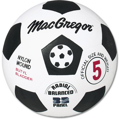 MacGregor Rubber Soccer Ball - Size 3