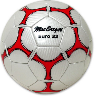 MacGregor Euro 32 Synthetic Leather Soccerball - Size 5