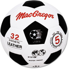 MacGregor Molded Synthetic Leather Soccer Ball - Size 5