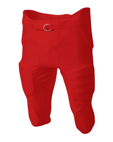 A4 NB6141 Youth Football Game Pants - 88% Nylon 12% Spandex