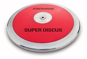 """Stackhouse T61 Red Super """"Low Spin"""" 1.6 Kilo High School Discus"""