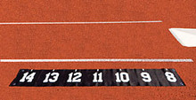 "Stackhouse TPVPSM Pole Vault Plant Step Marker - 6"" Numbers"