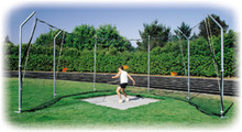 Stackhouse THSCAN 12' Cantilevered Discus Cage - Easy Set-Up