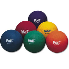 """Voit 8.5"""" Multi-Colored Playground Balls - Prism Pack of 6"""
