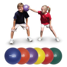 "Color My Class 8"" P.G. Sof's Foam/Rubber Balls - Set of 6"