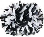 Alleson CPOM2 Two Color Plastic Mix Convertible Cheerleading Pom