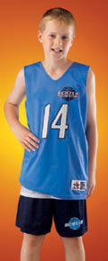 Alleson Athletic 560RY Youth Reversible Mesh Basketball Tank