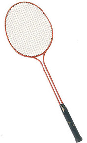 Champion Sports BR30 Double Steel Shaft Badminton Racket