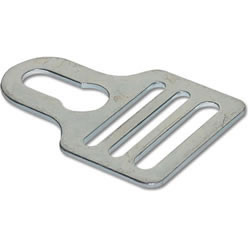 "1"" Metal Keyway Fastener Shoulder Pad Hardware"