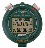SEIKO S053 - Energy Saver 100 Memory Stopwatch