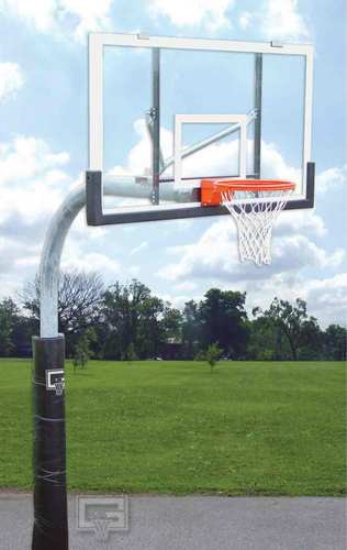 Gared Sports PK6040: Gooseneck Package with Acrylic Basketball Board