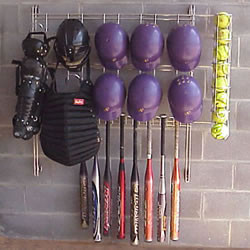 Athletic Connection Dugout Organizer Rack for Softball