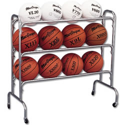 Athletic Connection Wide Body Ball Cart-12 Balls